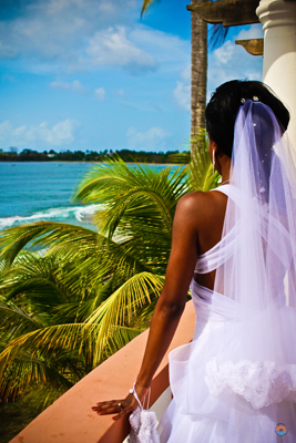 Tobago wedding bride