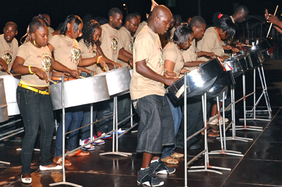 steel drum band Tobago