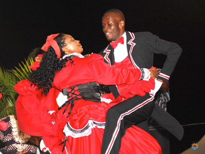 Tobago dancers