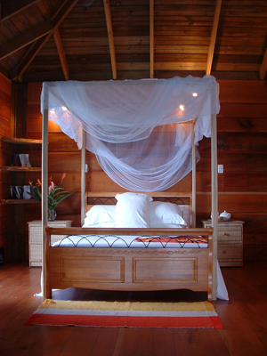 Castara Retreats, Tobago romantic bedroom