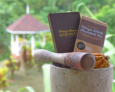 Award winning Tobago chocolate
