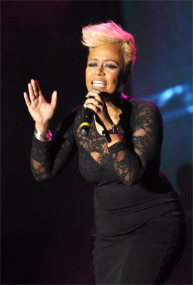 Emile Sande at Tobago Jazz Festival