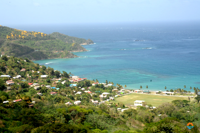 View from Tobago Speyside lookout