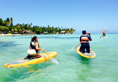Stand up Paddle in Tobago