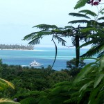 The Nest - view of Buccoo Reef, Tobago